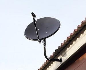 Satelliet schotel Noord-Holland